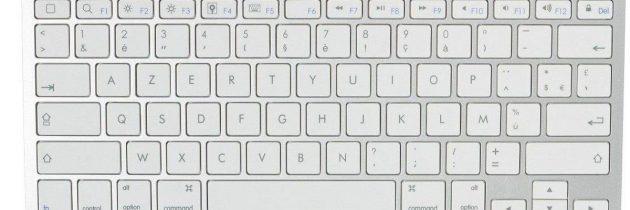 Practica con el teclado