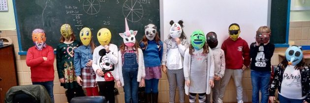 And here … all our masks!